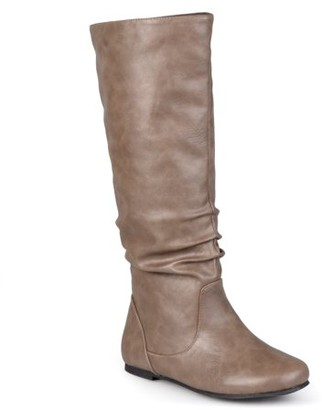 Brinley Co. Women's Slouchy Round Toe Boots