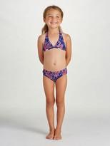 Oscar de la Renta Graphic Floral Classic Bikini