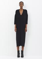 Zero Maria Cornejo black long eloise dress