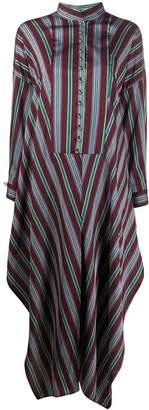Maison Rabih Kayrouz striped tunic shirt dress