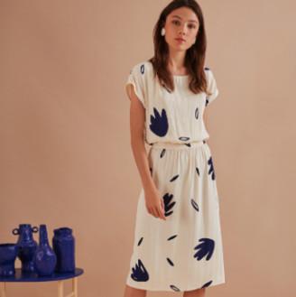Des Petits Hauts Fins Ricci Long Waisted Dress - 1