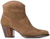 Chie Mihara Salie cuban heel boots