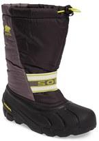 Sorel Kid's 'Cub' Water Resistant Snow Boot