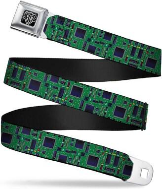 Buckle Down Buckle-Down Unisex-Adults Seatbelt Belt Regular