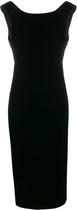 Emporio Armani sleeveless evening dress