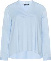 Jette Joop Plus Size Wrapped V-neck blouse