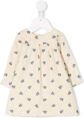 Bonpoint Daphne blueberry print dress