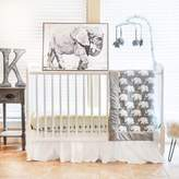 Pam Grace Creations Indie Elephant Crib Bedding Collection in Mint