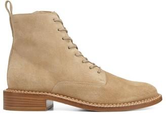 Vince Cabria Suede Combat Boots