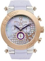 Mulco Women's MW3-13403-513 Era Analog Display Swiss Quartz Purple Watch