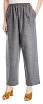 eskandar Crosshatched Japanese Trousers