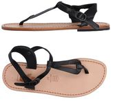 Local Apparel Toe post sandal