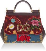 Dolce & Gabbana Tapestry Mini Bag Cross Body Bag