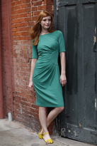 Shabby Apple Greta Sheath Dress Green