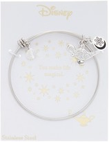 LA Rocks Crystal Aladdin Genie Lamp Bangle Bracelet