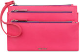 Nine West Table Treasures Triple Zip Wristlet