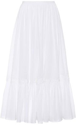 Polo Ralph Lauren Cotton midi skirt