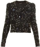 Isabel Marant Felipe embellished collarless jacket