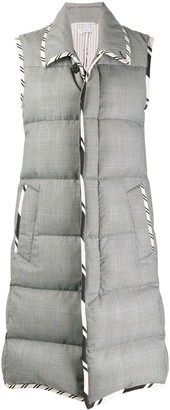Thom Browne Padded Sleeveless Coat