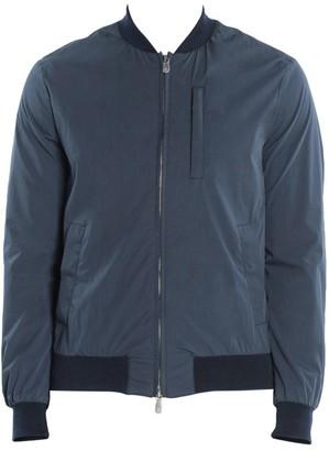 Eleventy Water-Resistant Cotton Bomber Jacket