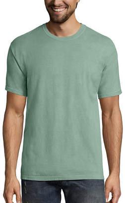 Hanes Men's ComfortWash Garment-Dyed Short Sleeve Tee
