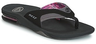 Reef FANNING women's Flip flops / Sandals (Shoes) in Black