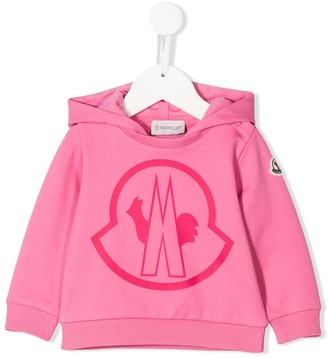 Moncler Enfant Logo-Print Hooded Sweatshirt