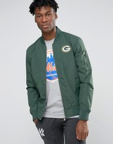 New Era Packers Bomber Jacket