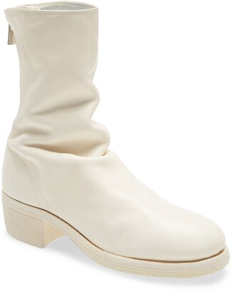 Guidi Back Zip Bootie