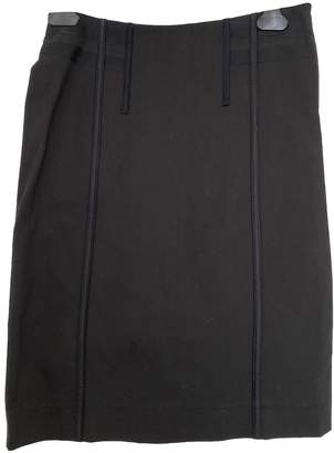 Philosophy di Alberta Ferretti Black Cotton Skirt for Women