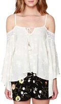 Willow & Clay Women's Cold Shoulder Blouse