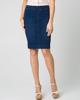Le Château Stretch Denim Pencil Skirt