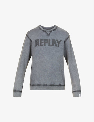 Replay Essential crewneck organic-cotton sweatshirt
