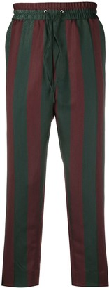 Vivienne Westwood Striped Cropped Trousers