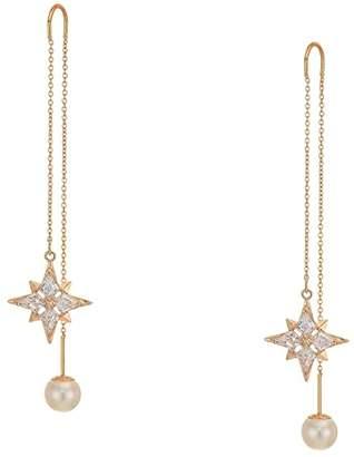 Swarovski Symbolic Chain Pierced Earrings