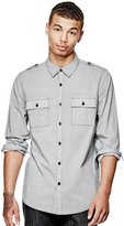 GUESS Claymour Slim-Fit Shirt