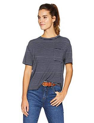 Daily Ritual Jersey Short-sleeve Boxy Pocket Tee Shirt,(EU M - L)