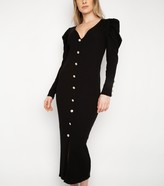 New Look Port Boutique Puff Sleeve Jumper Dress