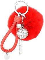 Keychains, Doinshop Fur Ball Cell Phone Car Key Chain Pendant Handbag Charm Decoration