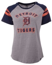 '47 Women's Detroit Tigers Fly Out Raglan T-shirt
