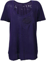Unravel Project distressed T-shirt