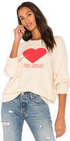 The Great The College Sweatshirt in Cream. - size 0 / XS (also in 1 / S,2 / M,3 / L)