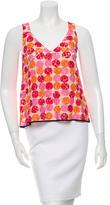 Marni Lace Printed Sleeveless Top