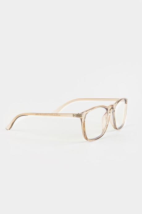 Leela Square Frame Blue Light Glasses - Gray