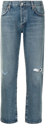 Citizens of Humanity Emerson cropped distressed jeans