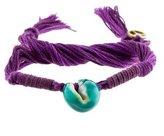 Aurelie Bidermann Shell Wrap Bracelet