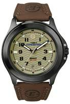 Timex Men's Expedition® Field Watch with Leather Strap - Gray/Green/Brown T470129J