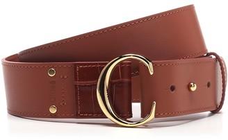 Chloé C Logo Buckle Belt