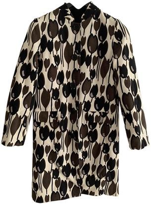 Madame à Paris Ecru Wool Coat for Women