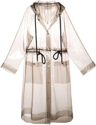 Proenza Schouler PSWL Transparent Raincoat
